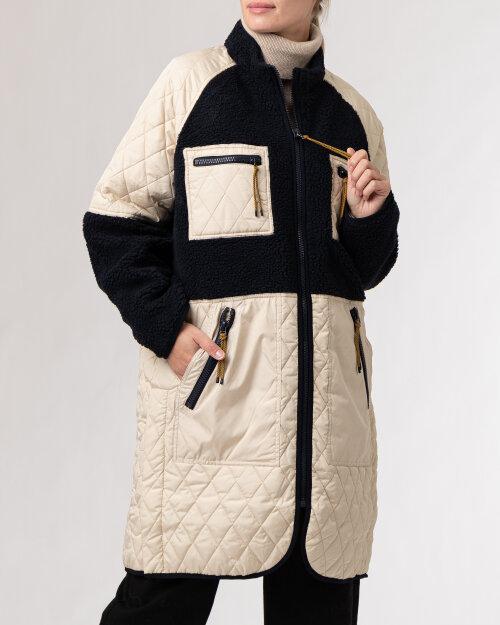 Płaszcz Lollys Laundry 21474_7015_DARK NAVY kremowy
