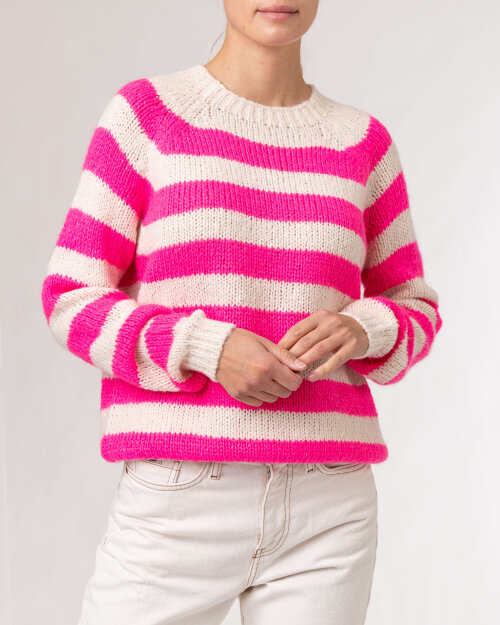Sweter Lollys Laundry 21405_6005_NEON PINK różowy