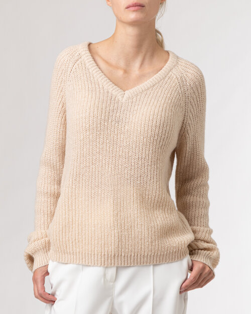 Sweter Lollys Laundry 21406_6000_CREME beżowy