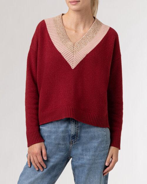 Sweter Iblues 73661617_FERTILE_004 czerwony