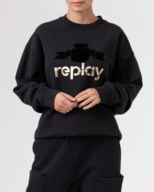 Bluza Replay W3586A.000.23190P_099 czarny