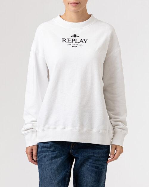Bluza Replay W3586B.000.23158LG_001 biały