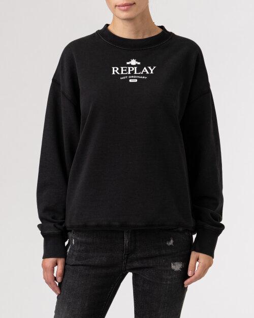 Bluza Replay W3586B.000.23158LG_099 czarny
