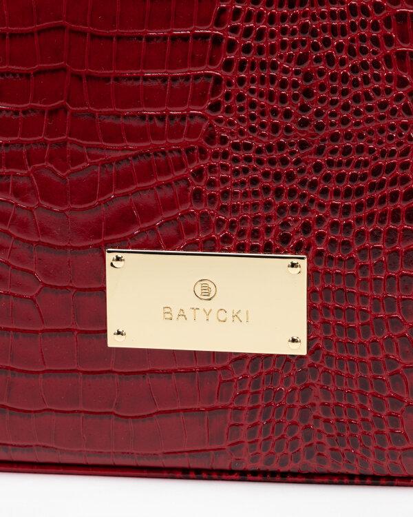Torba Batycki T275CO0600ZL_COCCO BORDOWY ZŁ czerwony