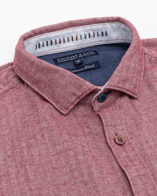 Koszula Colours & Sons 9221-240_241 MERLOT czerwony