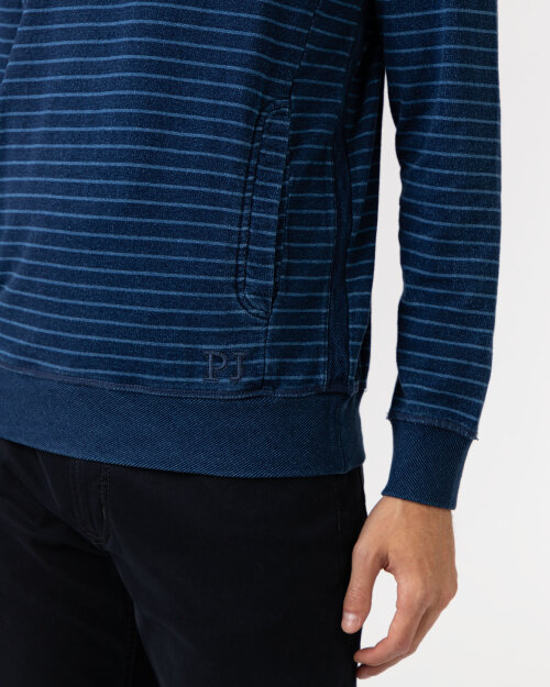 Bluza Pioneer Authentic Jeans P1_30005_6722 niebieski