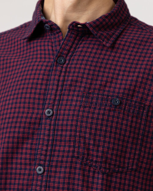 Koszula Pioneer Authentic Jeans P1_40010_4606 czerwony