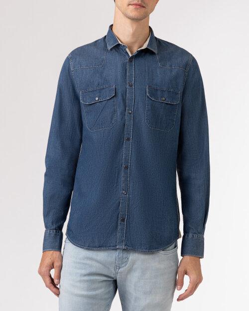 Koszula Colours & Sons 9221-300_301 SOLID DENIM niebieski