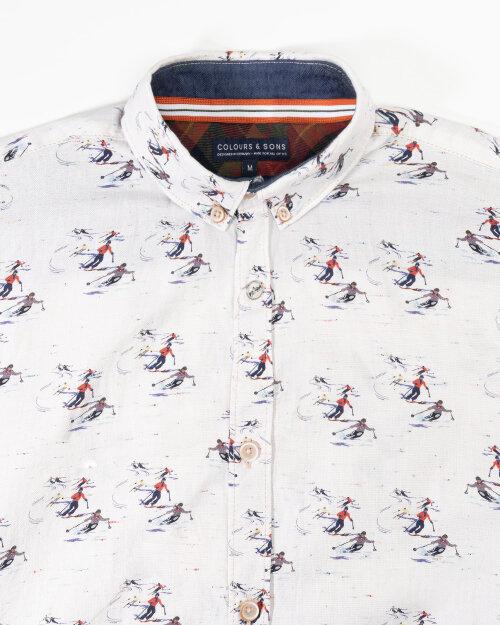 Koszula Colours & Sons 9221-270_272 SKIING biały