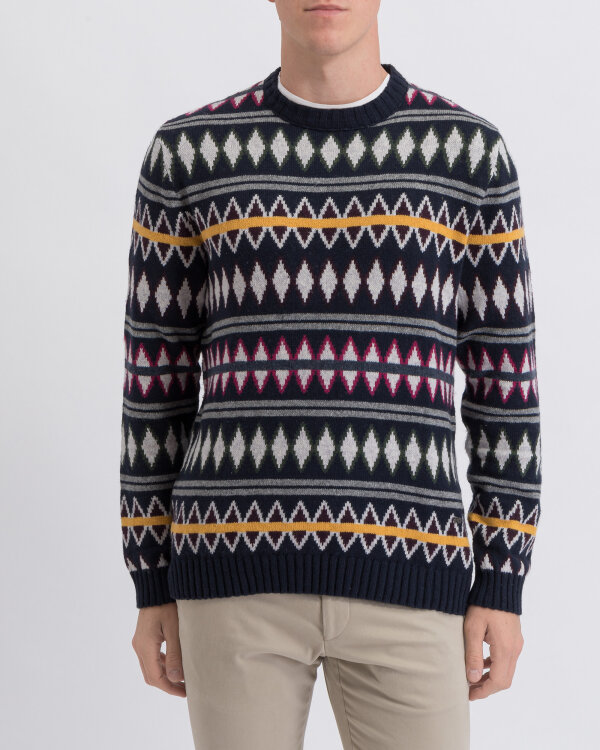 Sweter New In Town 8985040_493 wielobarwny
