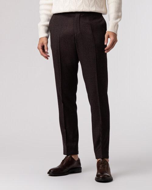 Spodnie Cavaliere 20AW21757_TRS NICK PAT_50 brązowy