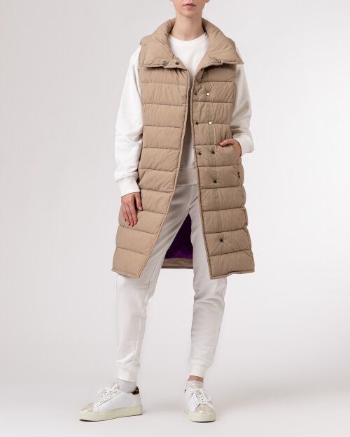 407702067 Didriksons 503811_Yrsa Women's Vest_451 beżowy