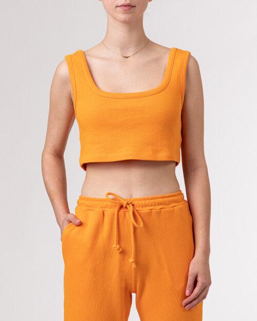 T-Shirt Na-Kd 1018-007519_ORANGE pomarańczowy