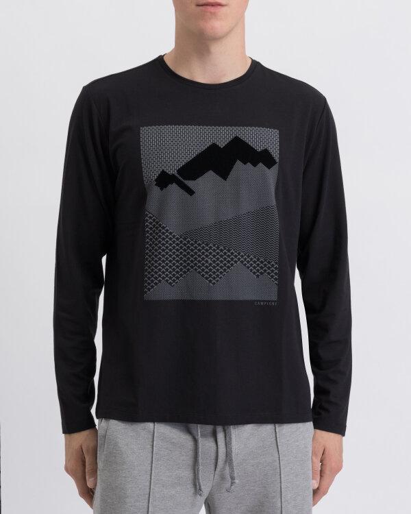 T-Shirt Campione 2097621_111125_93000 czarny