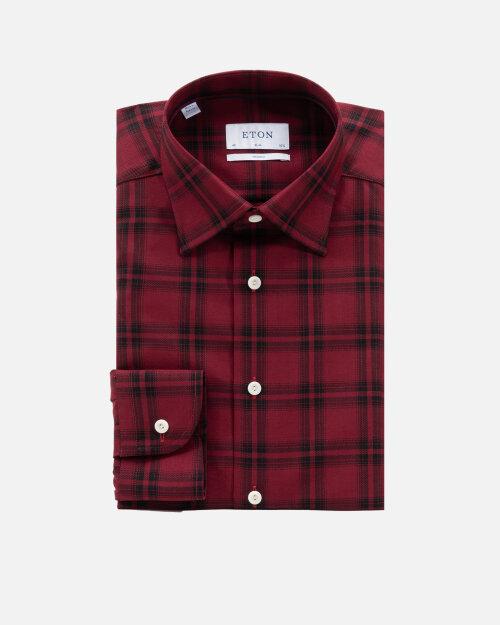 Koszula Eton 1000_02359_57 czerwony