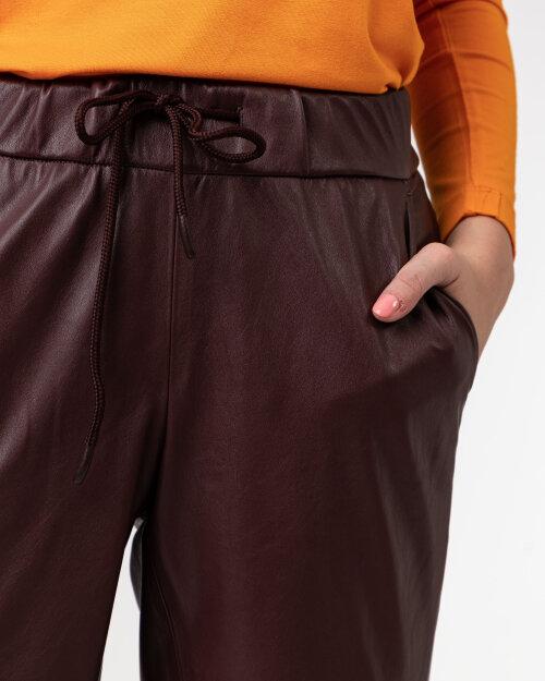 Spodnie Atelier Gardeur CARY740 601431_1038 bordowy