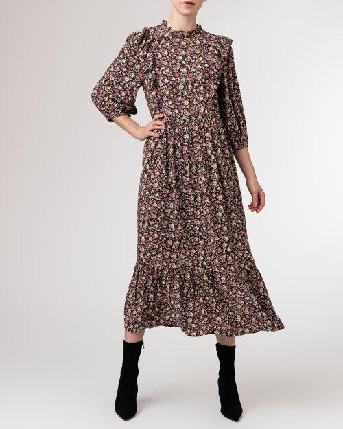 Sukienka Lollys Laundry 21477_3007_FLOWER PRINT brązowy