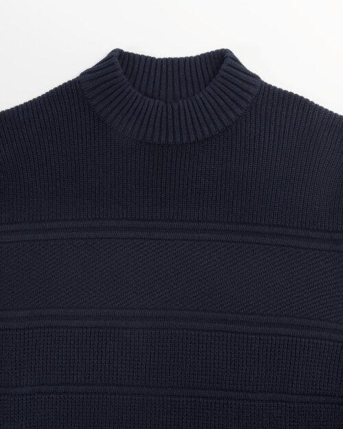 Sweter Bugatti 85522_2 7750_390 granatowy