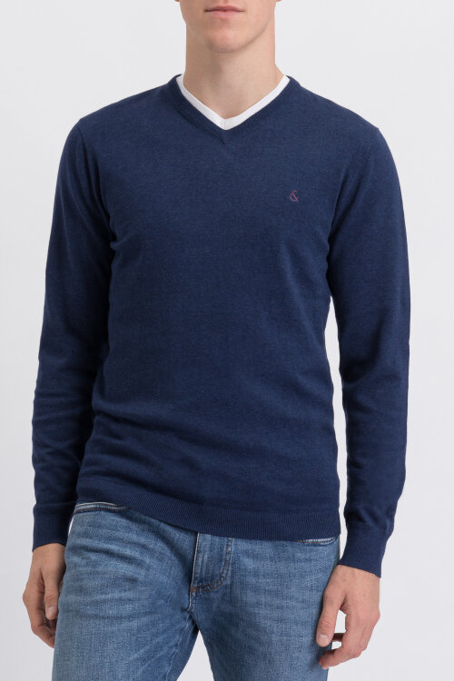 Sweter Colours & Sons 9219-161_699 granatowy
