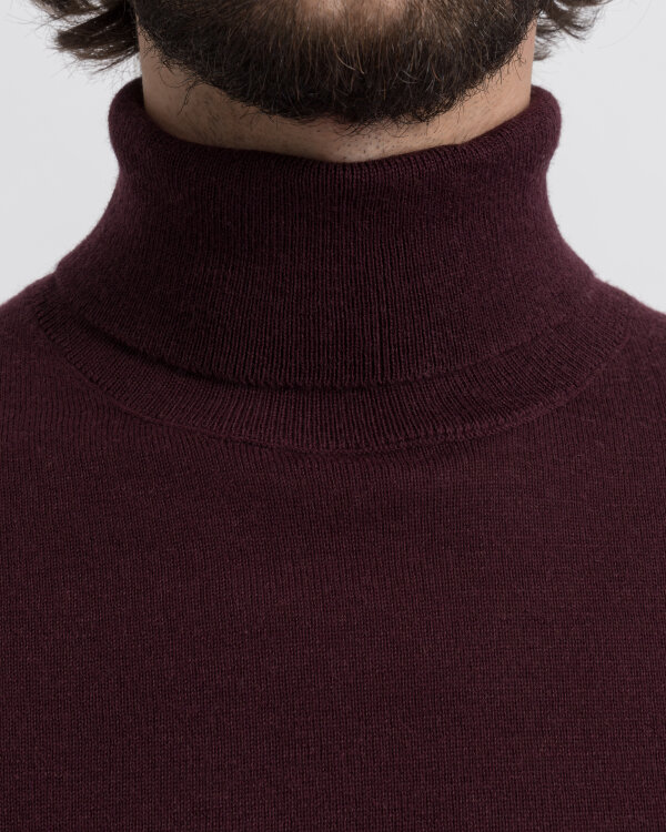 Sweter New In Town 8995728_385 bordowy