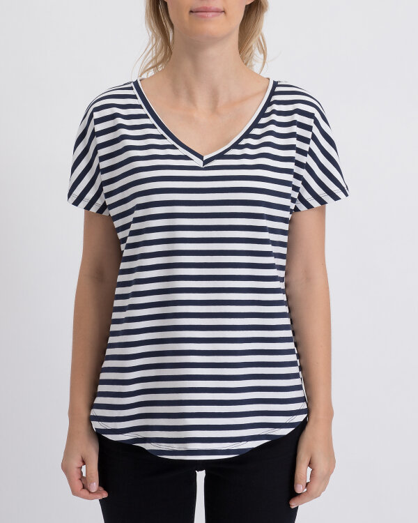 T-Shirt Fraternity WL19_W-TSH-0061_WHITE/NAVY biały