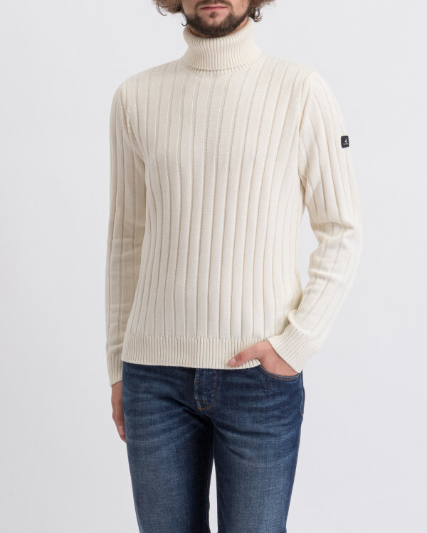 Sweter Navigare NV1023333_019 NATURALE kremowy