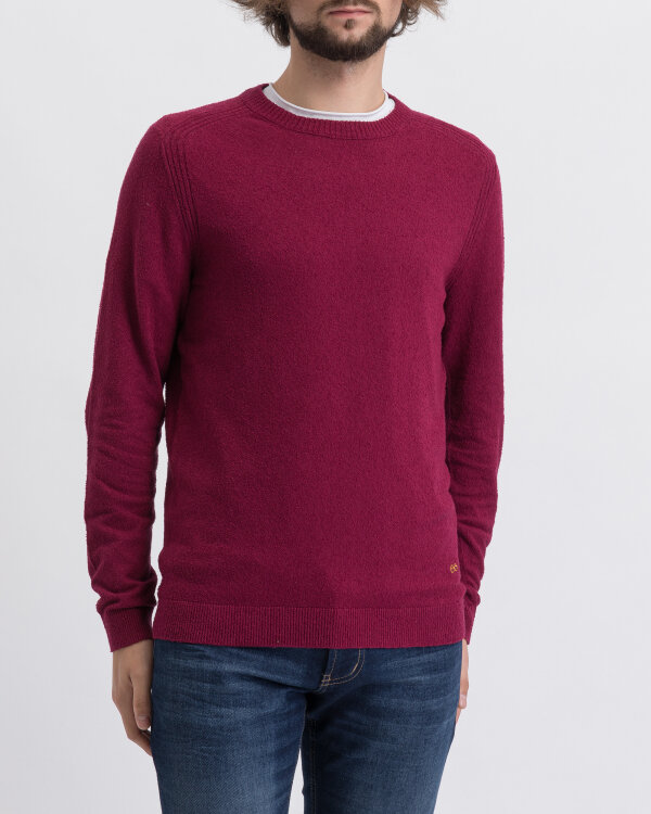 Sweter New In Town 8985010_344 bordowy