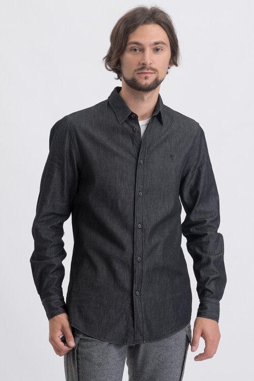 Koszula Trussardi Jeans 52C00091_1T003314_E280 ciemnoszary