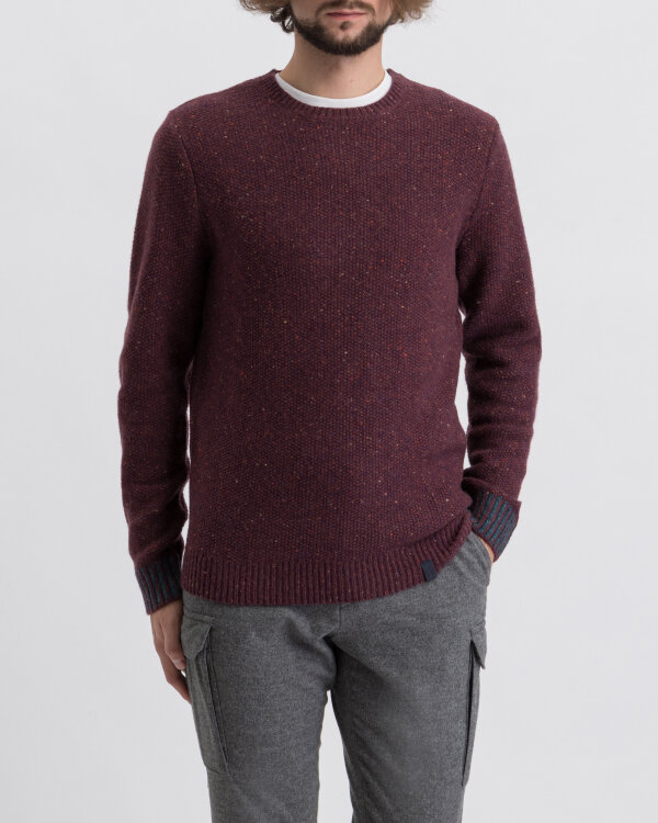 Sweter Colours & Sons 9219-140_349 bordowy