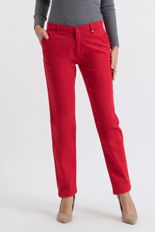 Spodnie Mexx 73844_181659 czerwony