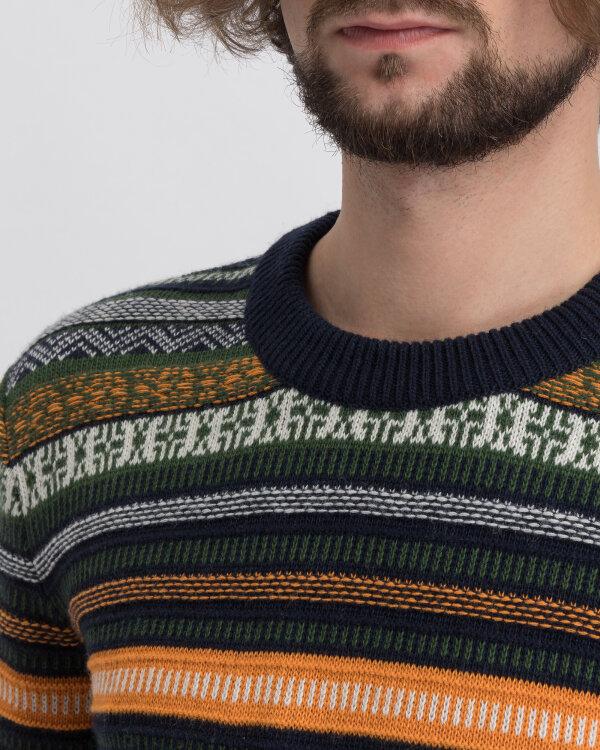Sweter Knowledgecotton Apparel 80571_1001 wielobarwny