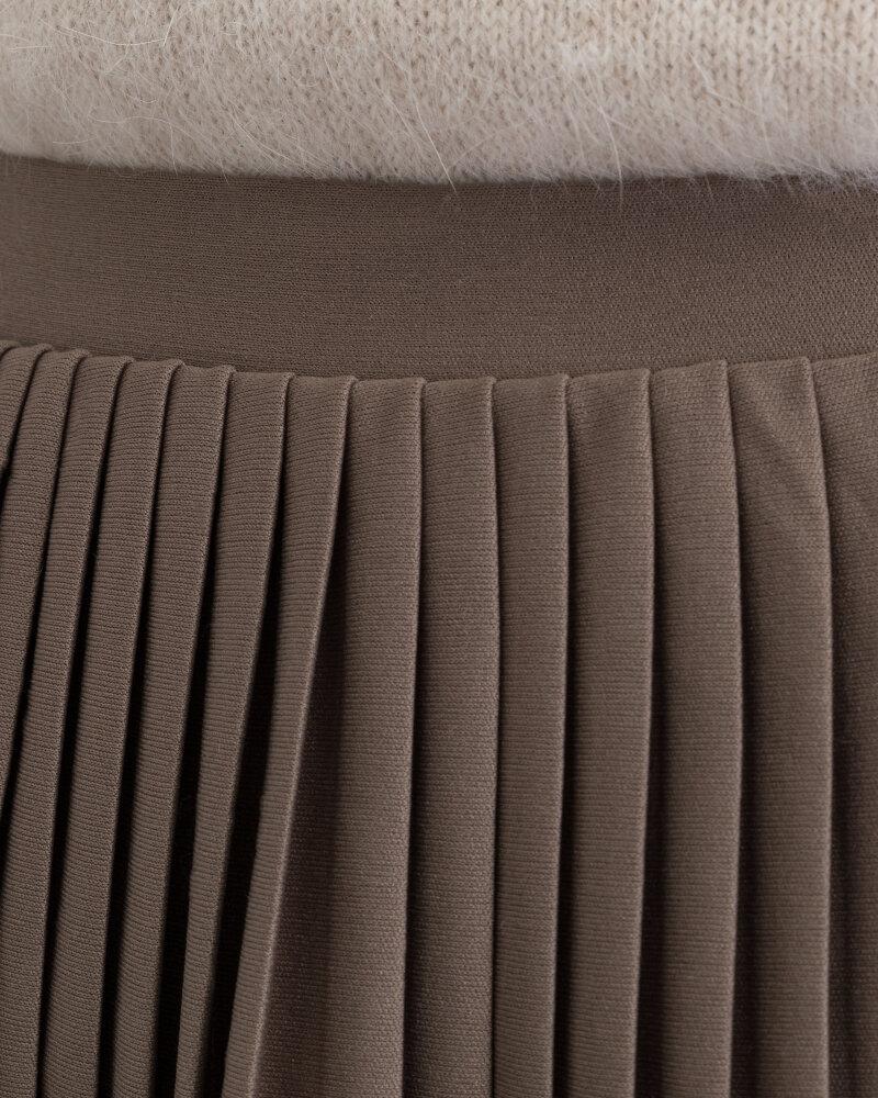 Spódnica Na-Kd 1018-002440_KHAKI brązowy - fot:3
