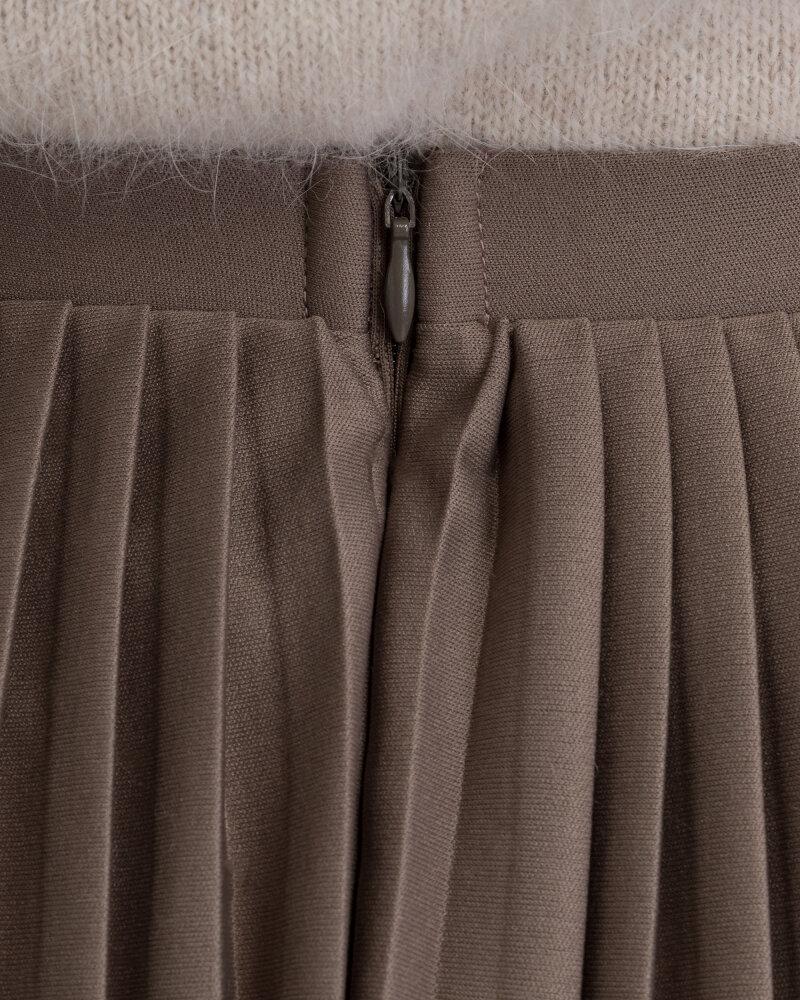 Spódnica Na-Kd 1018-002440_KHAKI brązowy - fot:5