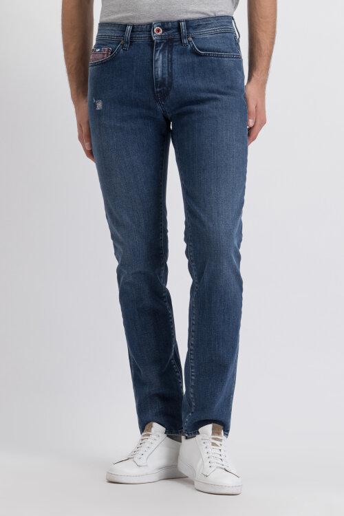 Spodnie Gas 98558_ALBERT SIMPLE_WK93 niebieski