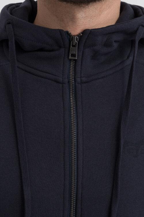 Sweter Gas 98232_SVEN/S OPEN SH_0194 granatowy
