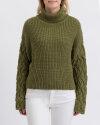 Sweter Na-Kd 1018-003322_OLIVE GREEN zielony