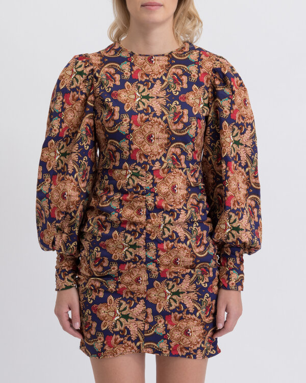 Sukienka Na-Kd 1018-003064_PRINTED wielobarwny