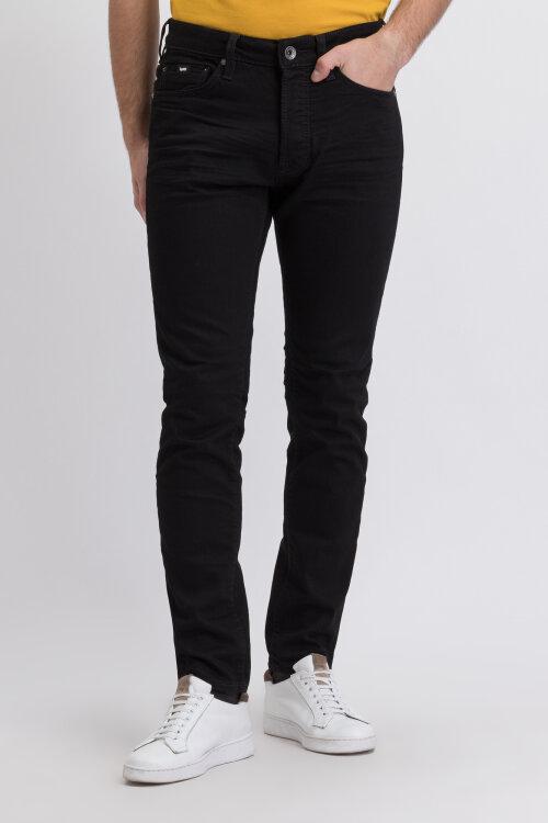 Spodnie Gas 83058_SUPER BLACK STR 9 1/_W706 czarny