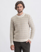 Sweter Knowledgecotton Apparel 80569_1070 kremowy