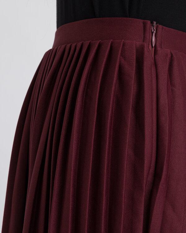 Spódnica Na-Kd 1018-002440_BURGUNDY bordowy