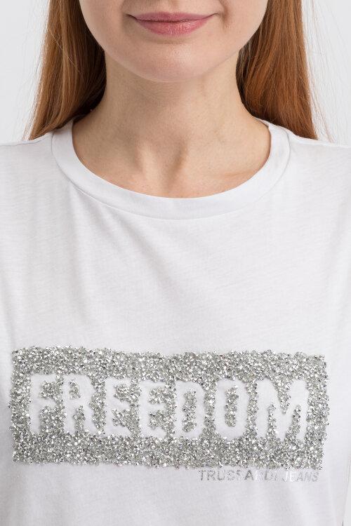T-Shirt Trussardi Jeans 56T00212_1T003062_W001 biały