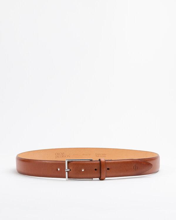 Pasek Oscar Jacobson 15051_002_BROWN brązowy