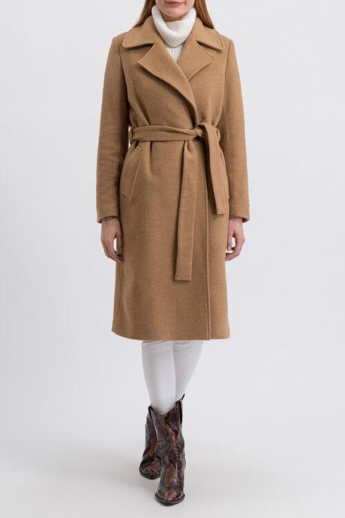 Płaszcz Fraternity JZ19_W-COA-0054_CAMEL brązowy