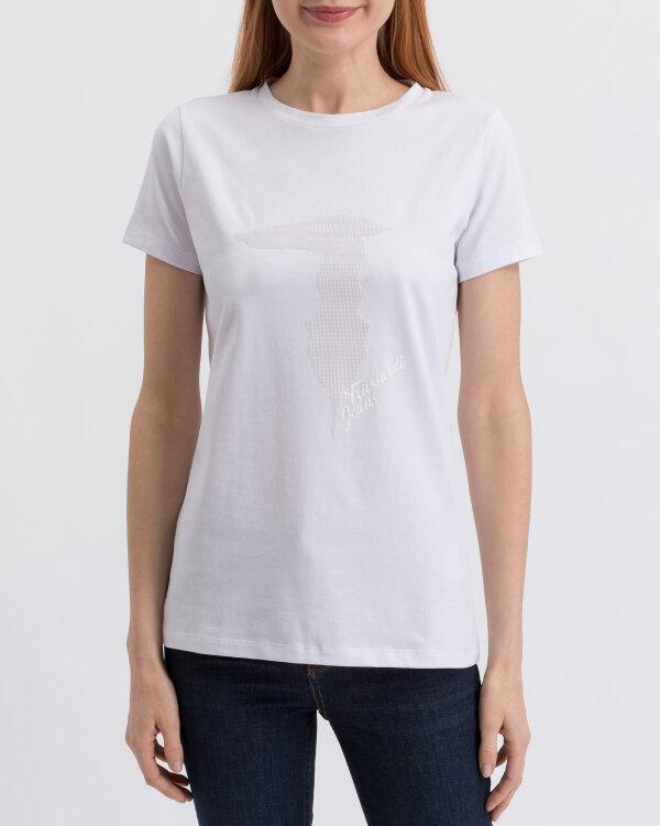 T-Shirt Trussardi Jeans 56T00200_1T001638_W001 biały