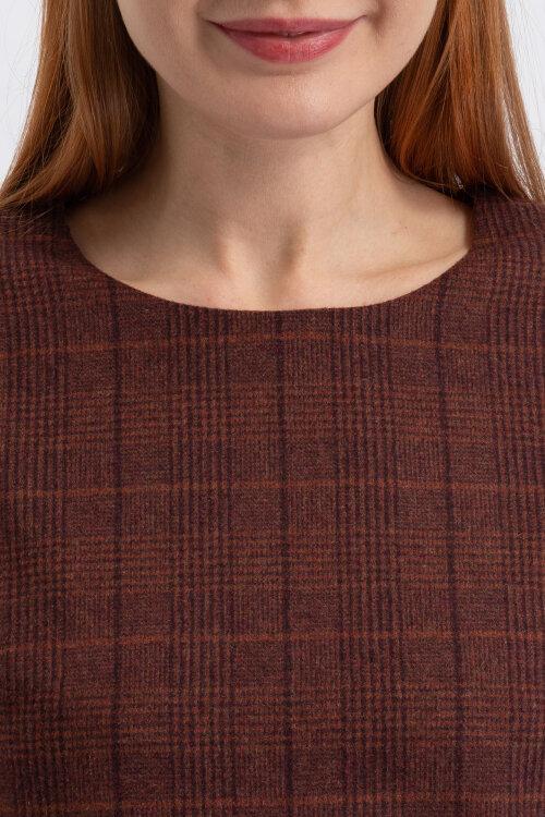 Sukienka Kossmann KF-CD88-7-12-15_ADA_BORDO brązowy
