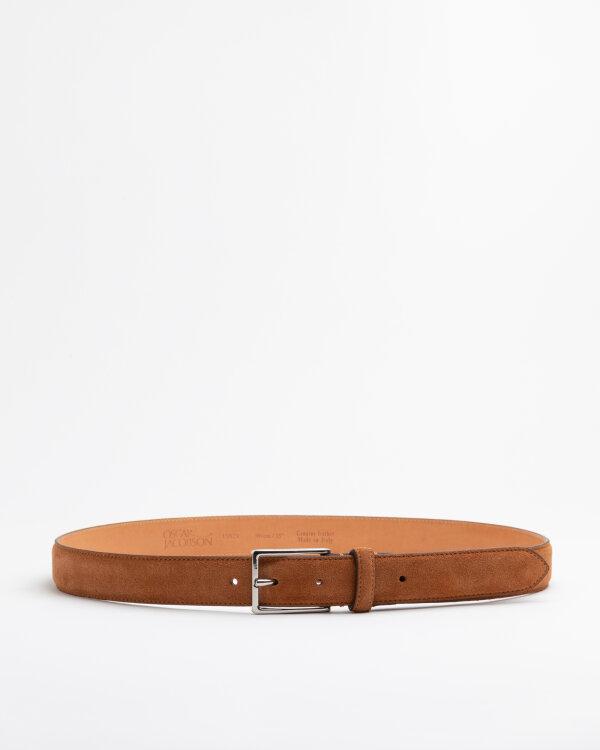 Pasek Oscar Jacobson 150280_002 BROWN brązowy