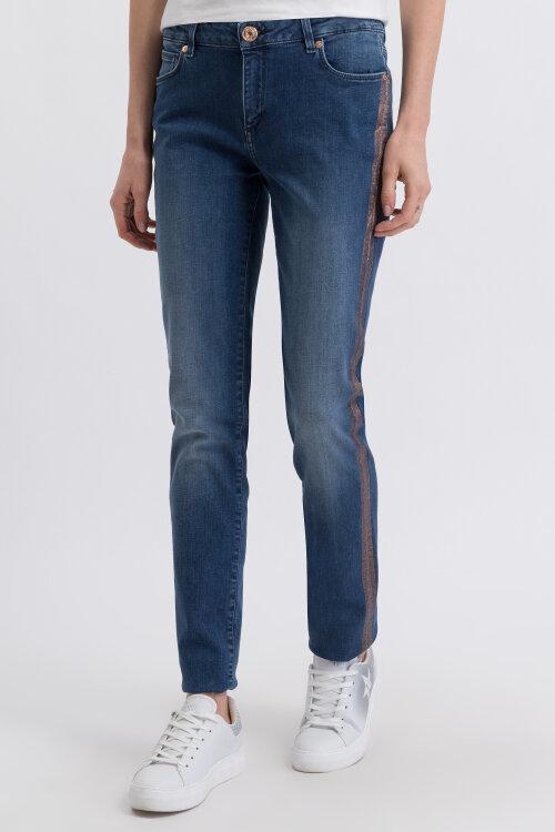 Spodnie Trussardi Jeans 56J00001_1T003190_U280 niebieski