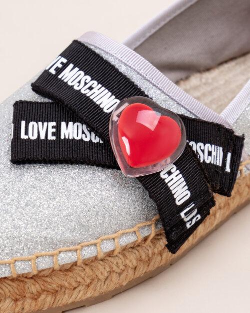 Buty Love Moschino JA1013_3G07JH_0902 szary