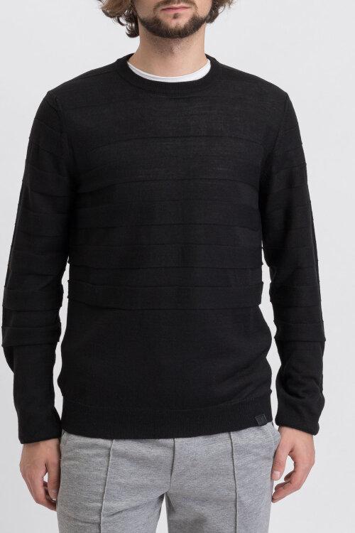 Sweter Trussardi Jeans 52M00263_0F000437_K299 czarny