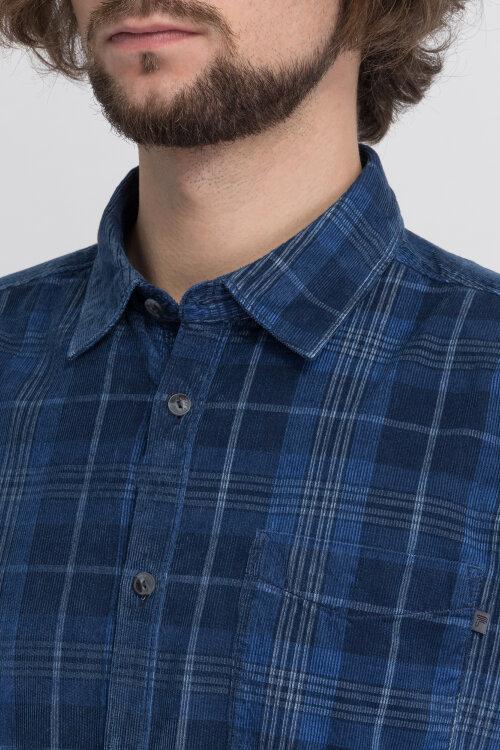 Koszula Pioneer Authentic Jeans 04231_07266_568 niebieski